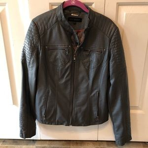Gray Moto Jacket-Steve Madden—Barely Worn